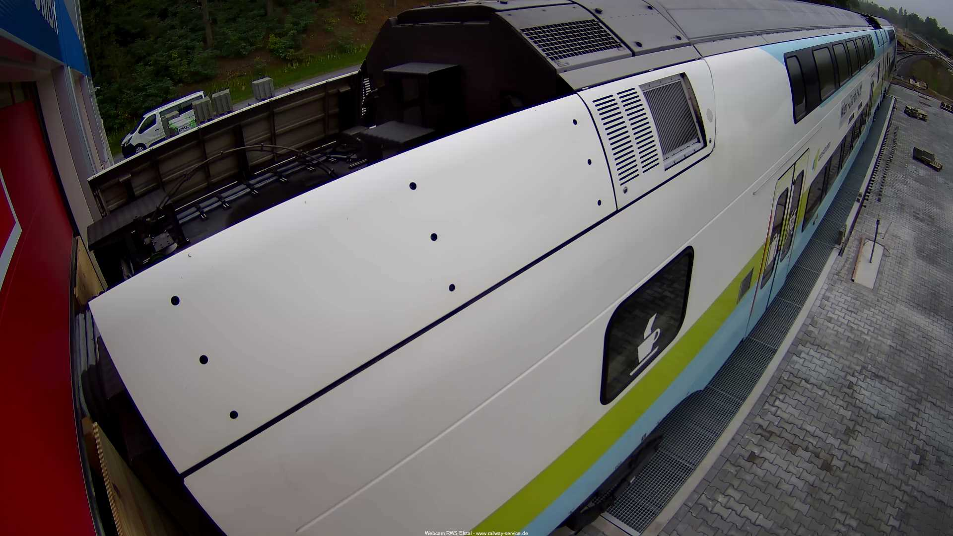 Webcam zum Bauvorhaben der RWS Railway Service GmbH in Elstal